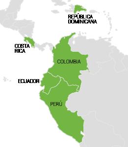 Mapa Boschettinet